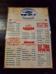 Must-try Tuna House.